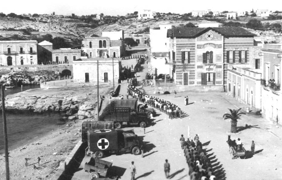 Santa Maria al Bagno durante il periodo bellico (1944)